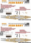 1-700-WWII-French-Navy-Jean-Bart-Battleship-for-Trumpeter-05752-and-65289
