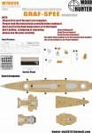 1-700-WWII-German-Navy-Graf-spee-Battleship-1937-for-Trumpeter-05773