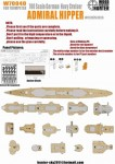 1-700-Wood-deck-German-Admiral-Hipper-for-Trumpeter