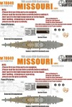 1-700-WWII-USN-Missouri-Battleship-for-Trumpeter-05705