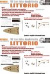 1-700-WWII-Italian-Navy-Littorio-Battleship-for-Trumpeter-05778