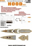 1-700-WWII-HMS-Navy-Hood-Battleship-1931-for-Trumpeter-05741