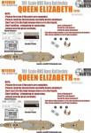 1-700-WWII-HMS-Navy-Queen-Elizabeth-Battleship-1918-for-Trumpeter-05797