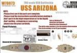 1-700-WWII-USN-Battleship-USS-Arizona-for-Dragon-7053