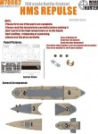 1-700-WWII-HMS-Repulse-Battle-Cruiser-and-65288for-Tamiya-31617