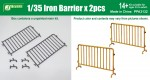 1-35-Iron-Barriers-x-2pcs