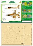 1-48-Airbrush-CAMO-MASK-for-IDF-F-16A-Camouflage-Scheme