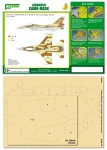 1-48-Airbrush-CAMO-MASK-for-IDF-F-16C-Camouflage-Scheme