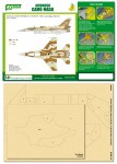 1-48-Airbrush-CAMO-MASK-for-IDF-F-16D-Camouflage-Scheme