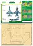 1-48-Airbrush-CAMO-MASK-for-F-16A-NSAWC-60-Camo-Scheme