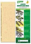 1-700-Germany-BISMARCK-Battleship-Airbrush-Wooden-Deck-Mask