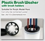 Plastic-Brush-Washer-with-Brush-Holders-kelimek-pouze-na-vodu-s-drzakem-na-stetce