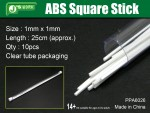 ABS-Square-Stick-1mm-x-1mm-ctvercovy-profil