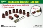Sand-paper-bands-set-40-Grit-brusne-kotoucky