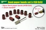 Sand-paper-bands-set-150-Grit-brusne-kotoucky