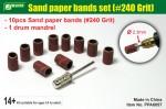 Sand-paper-bands-set-240-Grit-brusne-kotoucky