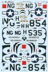 RARE-1-48-Republic-P-47N-199FS-Hawaiian-ANG-2-NG-SALE