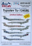 1-144-Decals-Tu-134-UBL-and-paint-mask-ZVE