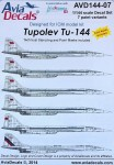 1-144-Tu-144-and-paint-mask-decal-ICM