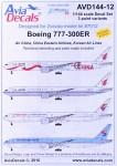 1-144-Decals-B777-300ER-Air-China-2xKorean-Air