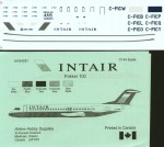 1-144-Fokker-100-INTAIR-C-FICB-etc