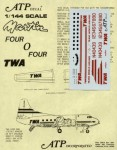 1-144-Martin-Four-O-Four-Airliners-America-kit-TWA-N40439-plus-alphabet