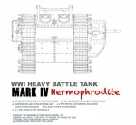 1-35-WWI-Heavy-Battle-Tank-Mark-IV-Hermophrodite
