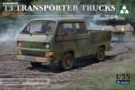 1-35-Bundeswehr-T3-Transporter-Trucks-Double-Cab
