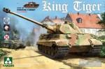 1-35-WWII-German-Heavy-Tank-Sd-Kfz-182-King-Tiger-Porsche-Turret-with-interior-no-Zimmerit