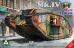 1-35-WW-I-Heavy-Battle-Tank-Mk-IV-2-in-1-Special-edition