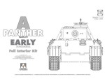 1-35-WWII-German-medium-Tank-Sd-Kfz-171-Panther-A-early-production-w-full-interior-kit