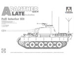 1-35-WWII-German-medium-Tank-Sd-Kfz-171-267-Panther-A-late-production-w-full-interior-kit-2-in-1