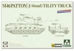 1-35-US-Medium-Tank-M46-Patton-+-1-4ton-Utility-Truck