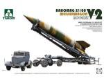 1-72-WWII-German-V-2-Rocket-Transporter-Erector-Meillerwagen-+-Hanomag-SS100