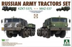 1-72-Russian-Army-Tractors-KZKT-537L-and-MAZ-537-1+1