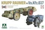 1-72-2-kits-Combo-KRUPP-RAUMER+-Vs-Kfz-617