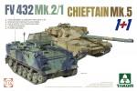 1-72-2-kits-Combo-FV432-Mk-2-1-ans-Chieftain-Mk-5