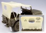 1-35-Willys-Jeep-tarp-set-masking-film-for-Tamiya-kit