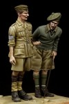 1-35-British-NCO-and-Scottish-Highlander-Western-Desert-WW-II