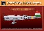 1-48-Caudron-C-600-Aiglon-Hungary-and-Luftwaffe-full-kit