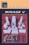 1-48-Mirage-5-cockpit-set-for-Kinetic-kit