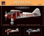 1-72-PZL-P-1-I-II-Prototype-and-Fighter-resin-kit