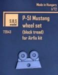 1-72-P-51-Mustang-wheel-set-block-tread-AIRF