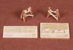 1-72-Piaggio-PC-7-wooden-trestle-for-SBS-Model-kit