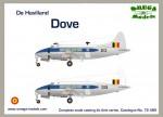 1-72-De-Havilland-Dove-DH-104-Belgium
