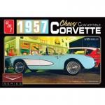 1-25-1957-Chevy-Corvette-Convertible-White-Car-Culture-Series