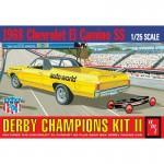 1-25-1968-El-Camino-SS-with-Bonus-Soap-Box-Derby-racing-car-Derby-Chapions-Kit-II