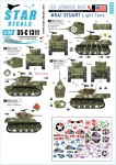 1-35-US-Armored-Mix-4-M5A1-Stuart-light-tank-in-Europe-1944-45