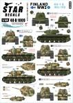 1-48-Finland-WW2-1-KV-1E-and-ISU-152-heavy-tanks