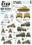 1-48-Finland-WW2--3-PzKpfw-IV-Ausf-J-BA-10M-and-BA-20M